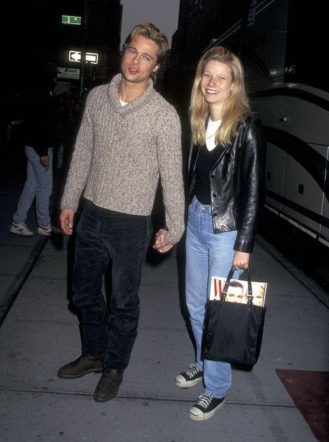 Brad Pitt E Gwyneth Paltrow Ai Golden Globe 2020, Lincontro-6263