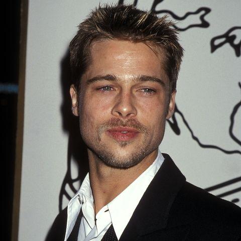 Brad Pitt S Hair Evolution Photos Of Brad Pitt S Hairstyles