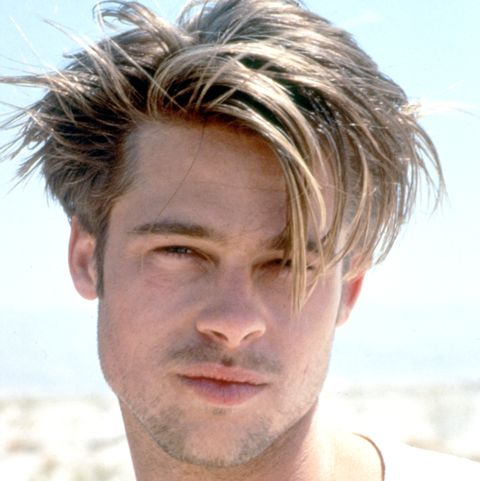 Actor Brad Pitt in his modelling days in the early 1990's. © Iain McKell / R
