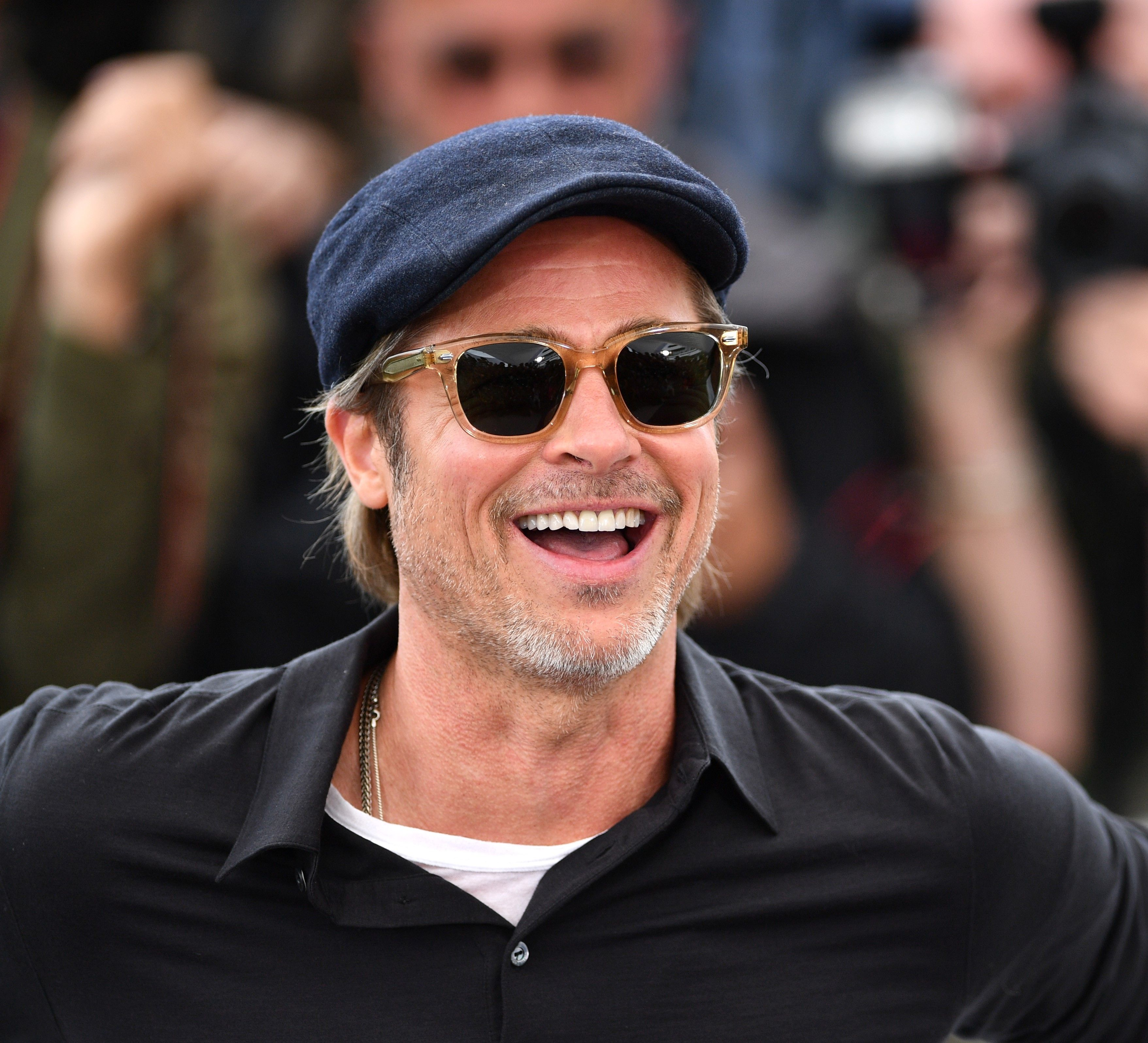 Brad Pitt Is Still Super Into Sculpture and, Honestly, Good For Him
