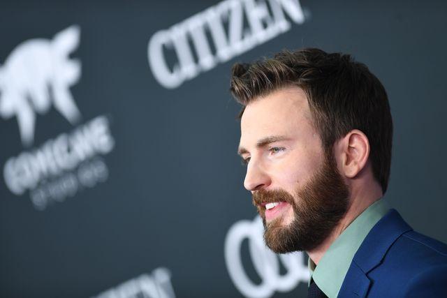 chris evans con barba