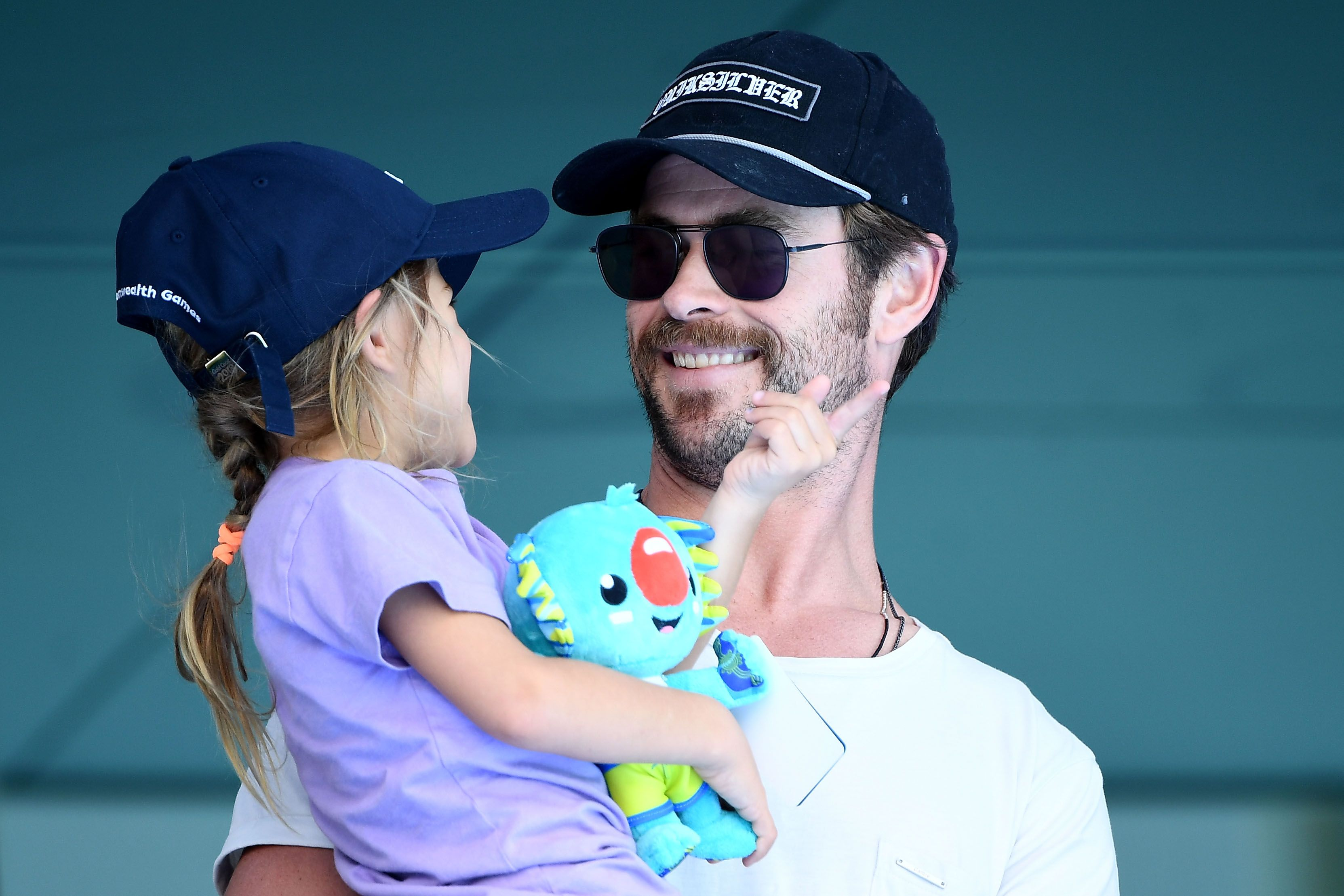 Chris Hemsworth Snuck His Daughter Onto A Disney Ride - Avengers Cast on Jimmy Kimmel