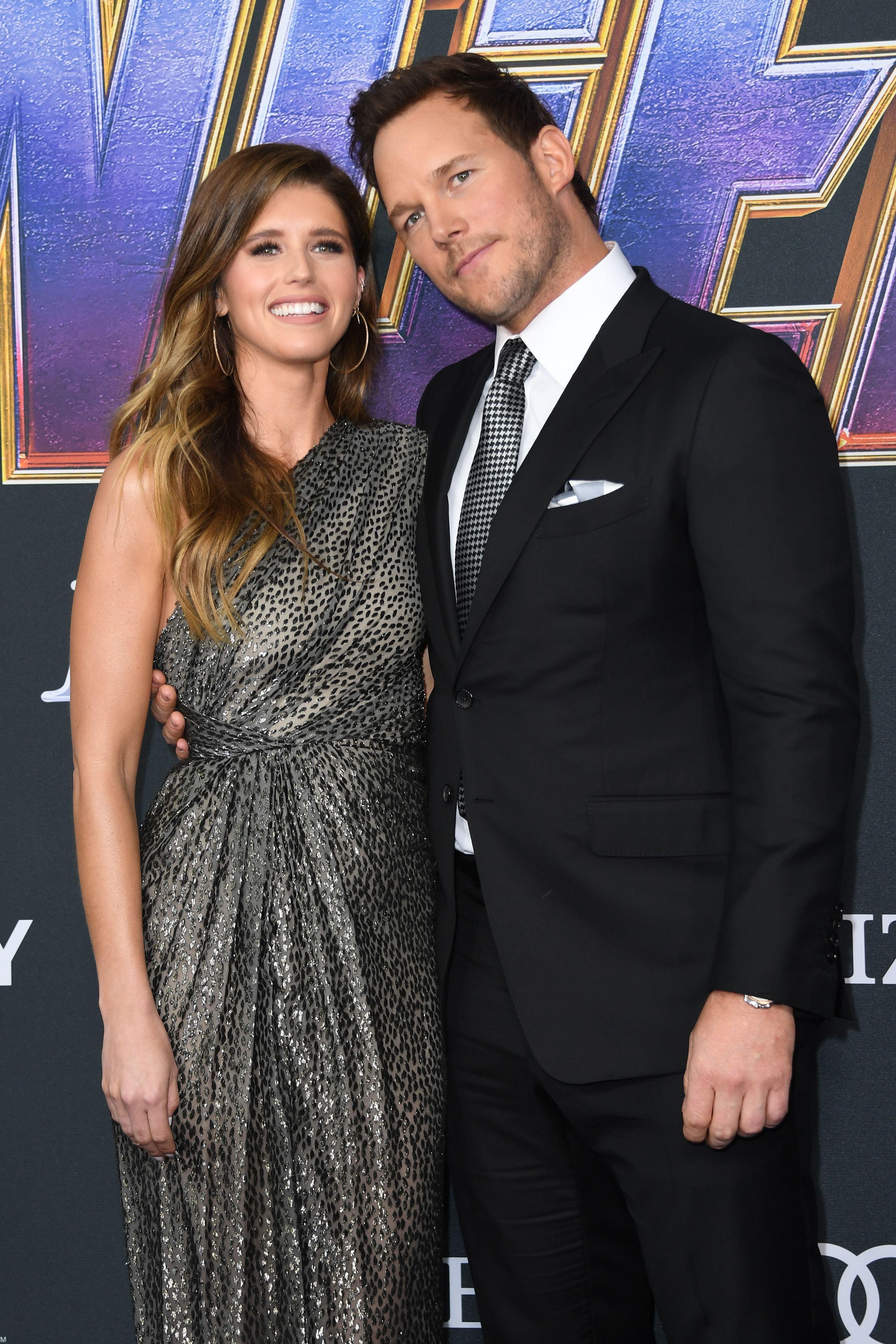 Katherine dating is who schwarzenegger Chris Pratt