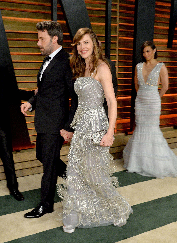 March 2, 2014 In Oscar de la Renta at the 2014 Vanity Fair Oscar Party in West Hollywood.