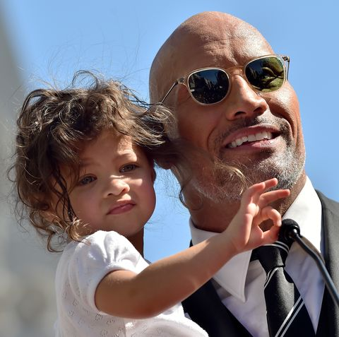 People Are Obsessing Over Dwayne Johnson S Adorable New
