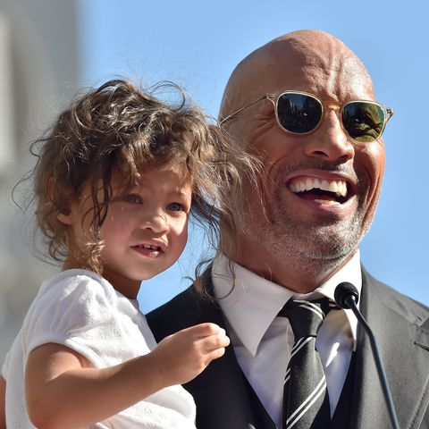 Dwayne The Rock Johnson S Instagram Photo Of His Daughter