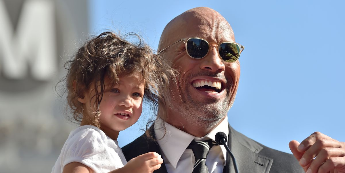 We Want to Live Inside This Moment Between The Rock and His Daughter