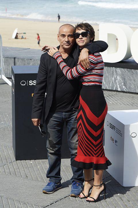 Eduard y Greta Fernández en Festival Cine San Sebastián