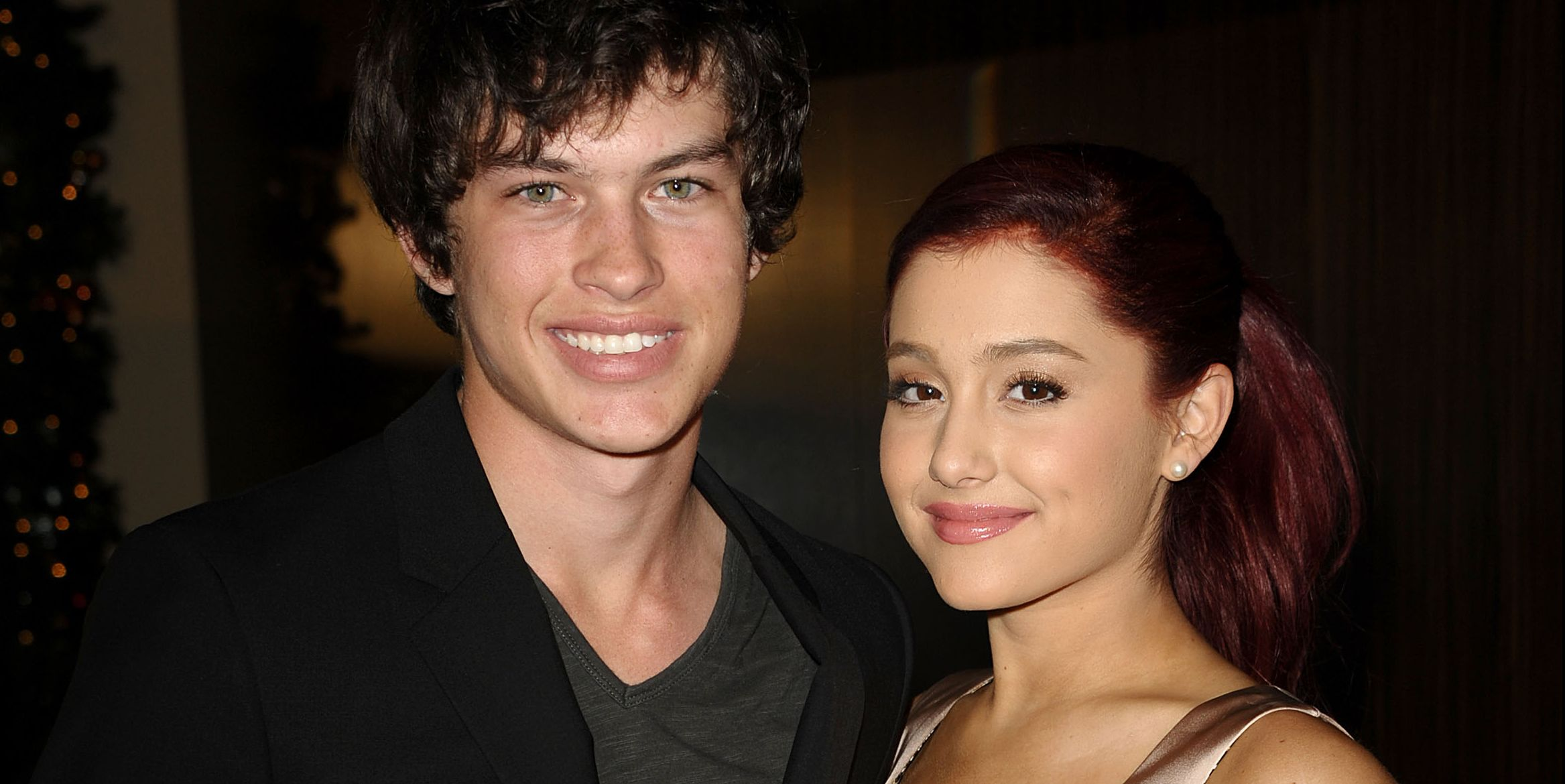 The two dated for three years way back in 2008.