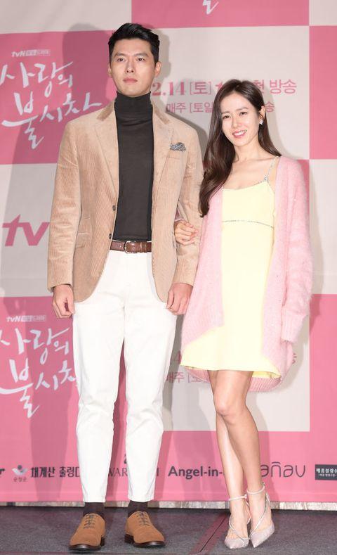 tvn drama 'crash landing on you' press conference in seoul