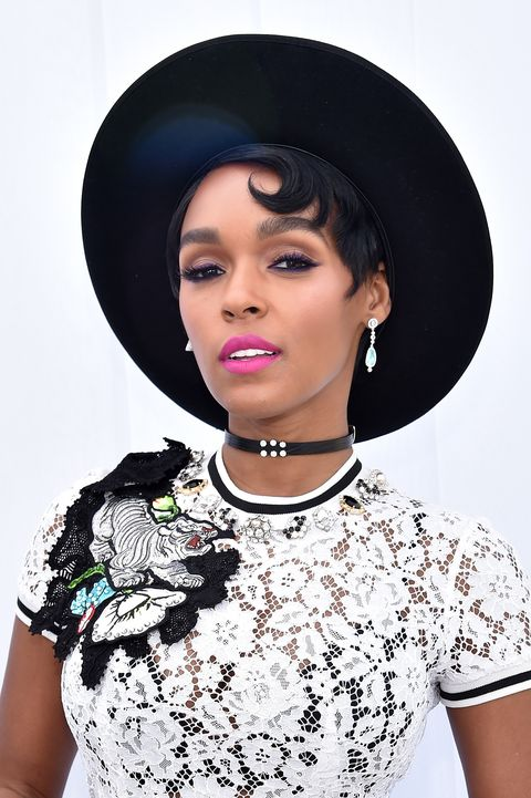 e025c96f94446 Janelle Monae Pixie Haircut - 2018 Film Independent Spirit Awards - Best Of  Gallery