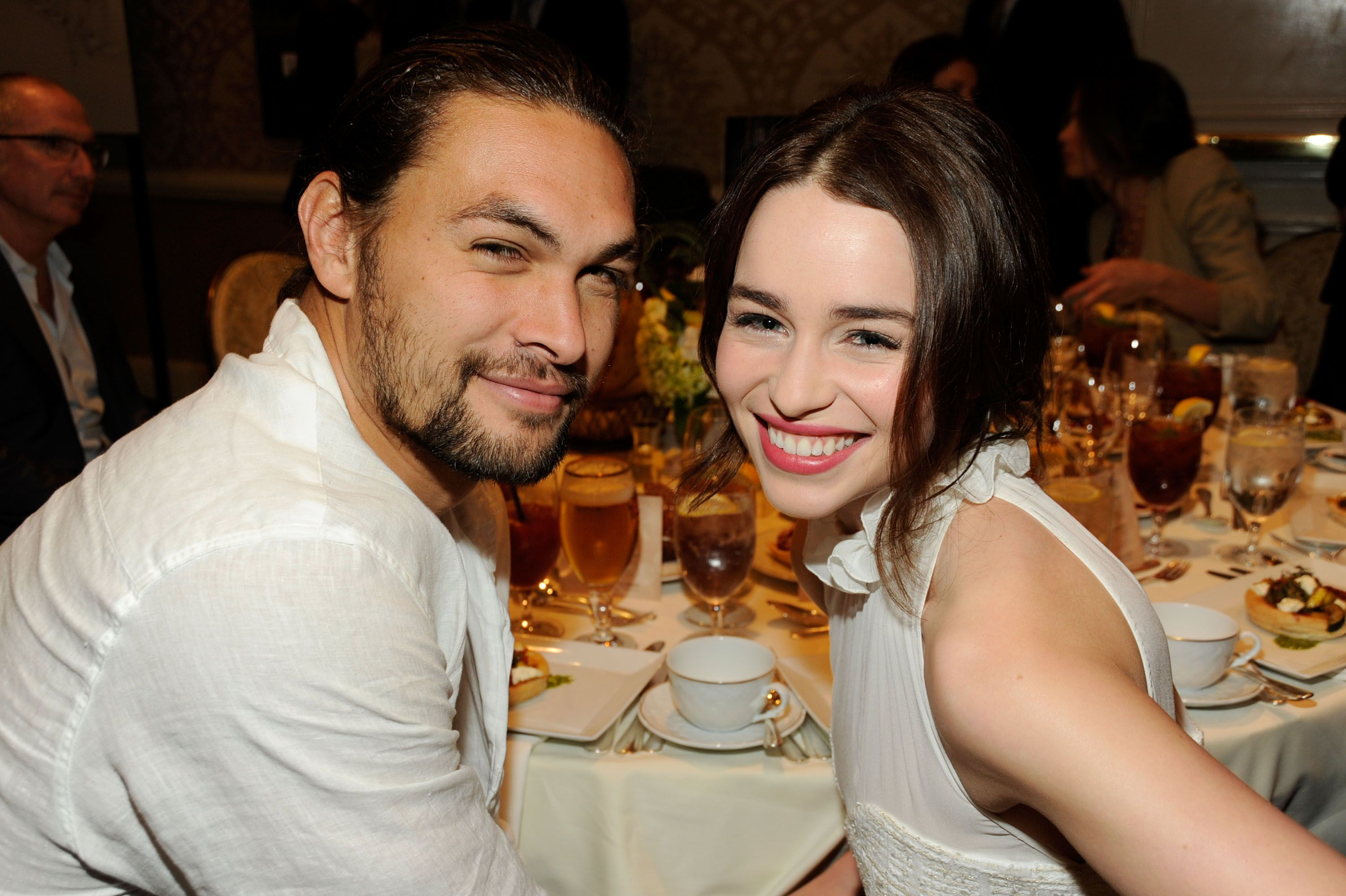 Jason Momoa Left the Most Khal Drogo Comment on Emilia Clarke's Instagram About Game of Thrones' Finale
