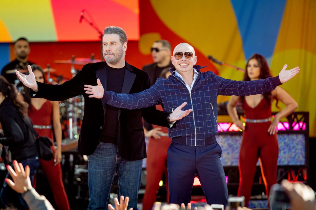 Pitbull Performs On ABC's 'Good Morning America'