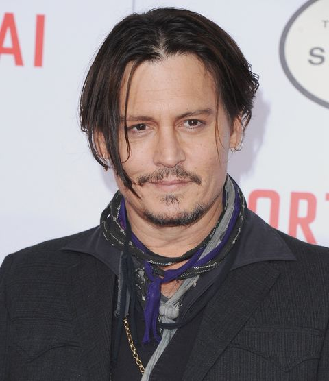 "the los angeles premiere of ""mortdecai""   arrivals