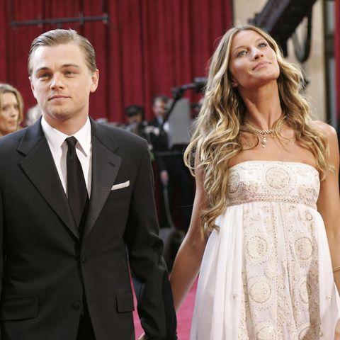 US actor Leonardo Di Caprio and his girl