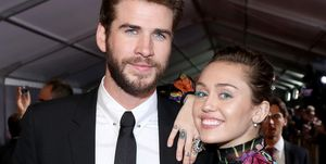 Liam Hemsworth en Miley Cyrus