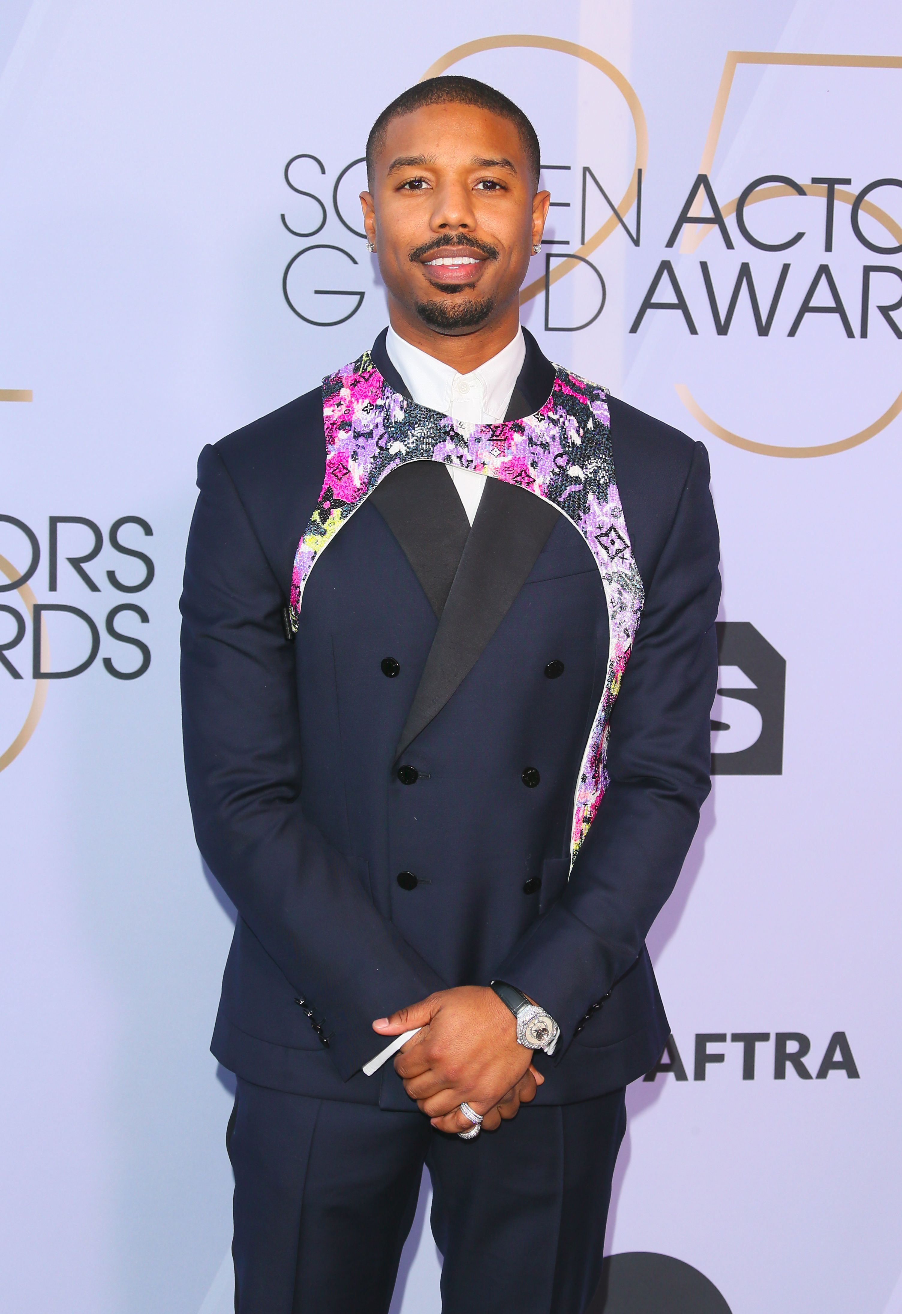 23df9474a28 Why Are Celebrities Like Michael B. Jordan Wearing Harnesses on the Red  Carpet?