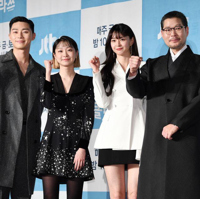 jtbc drama 'itaewon class' press conference in seoul