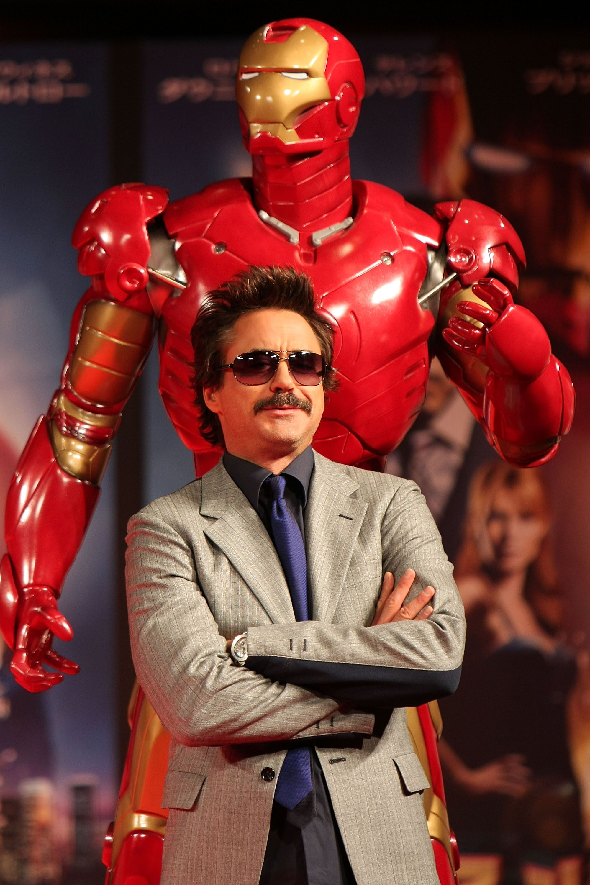 He was part of the inspiration for Tony Stark a.k.a. Iron Man.