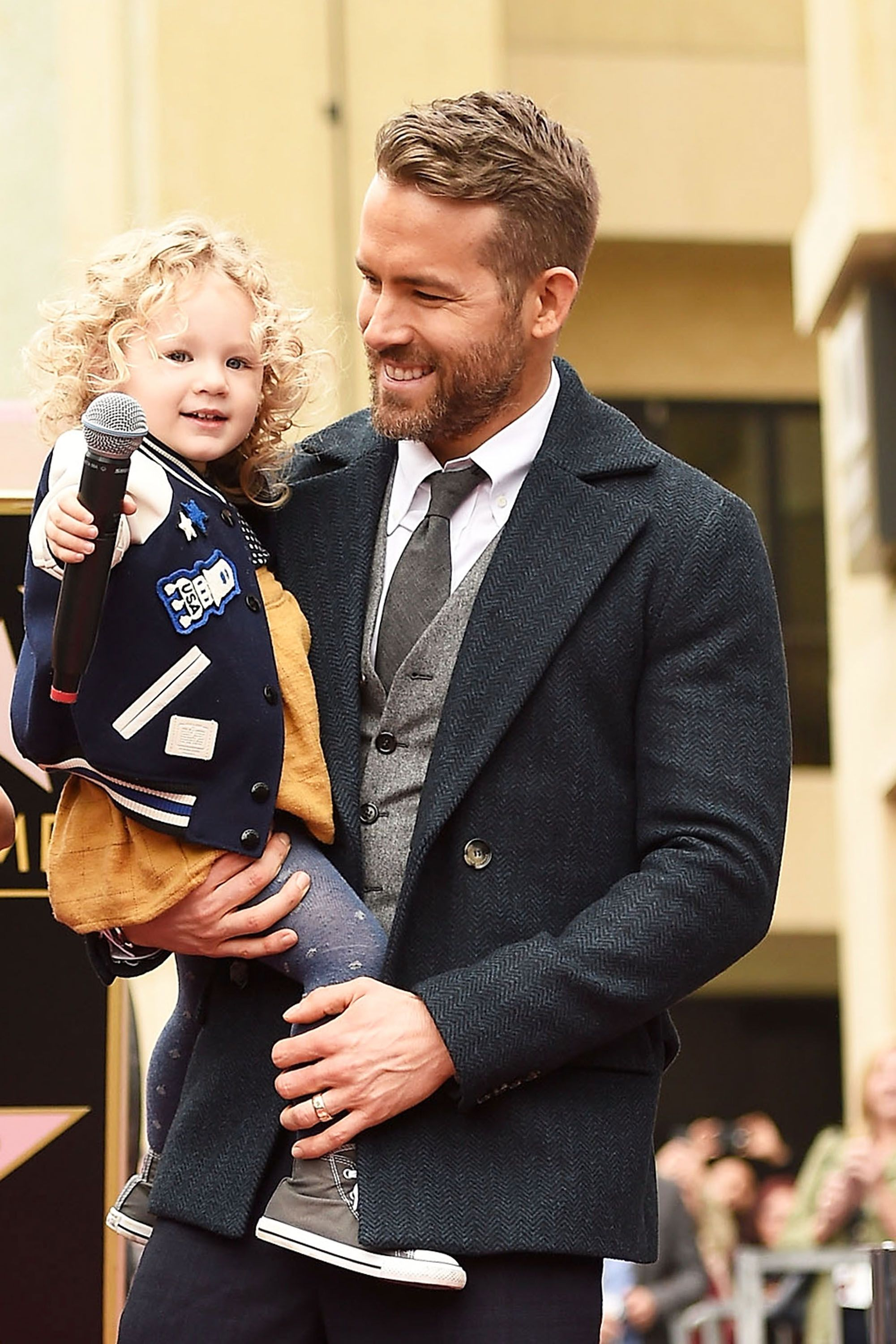 Ryan Reynolds and Blake Lively's Daughter James Wants to Be an Actress, and Ryan's Not Having It
