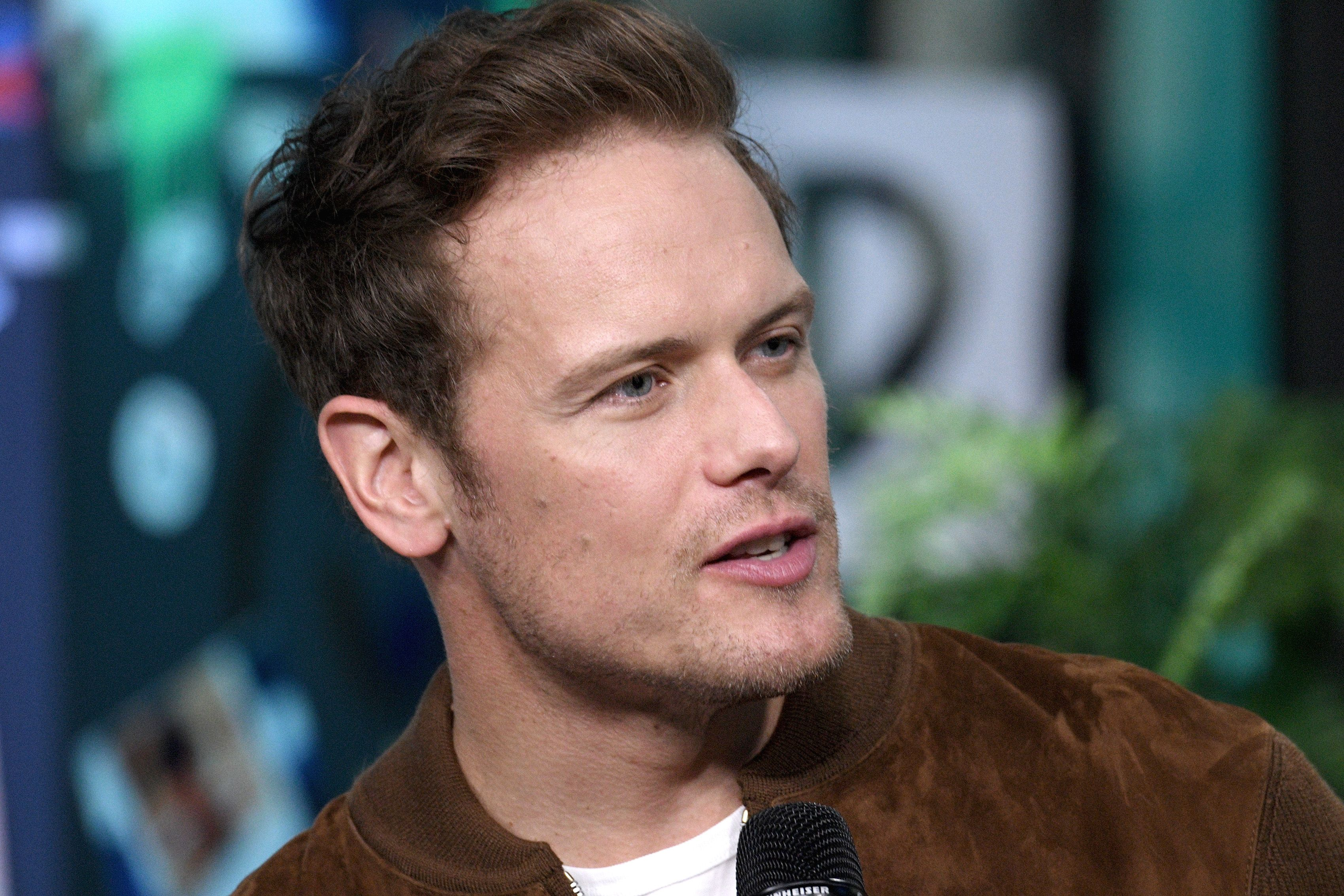 Outlander Star Sam Heughan Just Landed A New Show At Starz