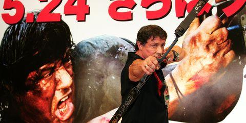 'Rambo' Press Conference