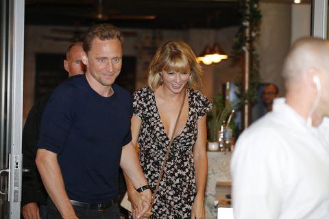 Tom Hiddleston And Taylor Swift Sighting In Broadbeach