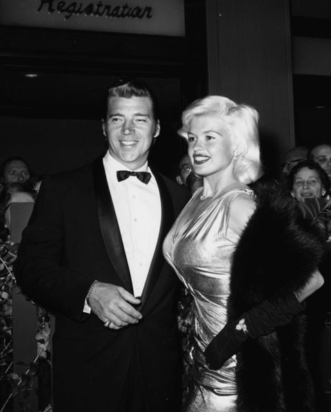 actors and spouses mickey hargitay and jayne mansfield news photo