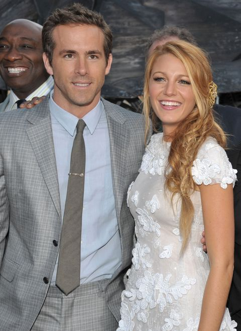 ryan reynolds and blake lively at the green lantern los angeles premiere
