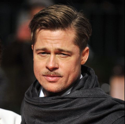 Brad Pitt S Hair Through The Years Brad Pitt Haircuts And Hairstyles