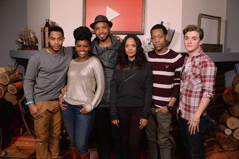 "YouTube ""Dear White People"" Reception - 2014 Park City"