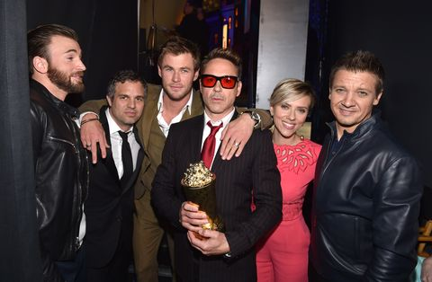 The 2015 MTV Movie Awards - Backstage and Audience