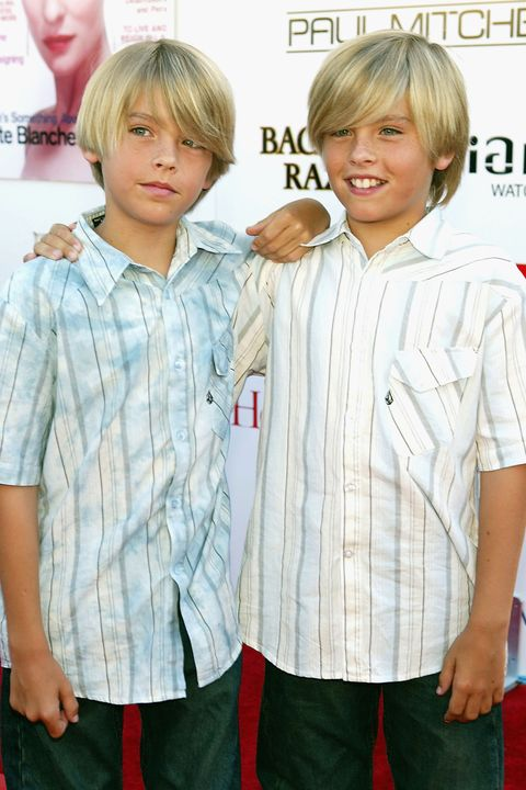young dylan and cole sprouse