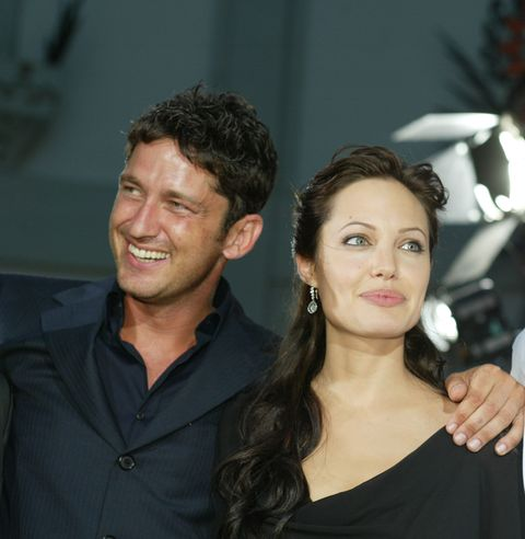 Gerard Butler, Angelina Jolie and Djimon Hounsou