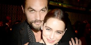 Game of Thrones Jason Momoa and Emilia Clarke reunion