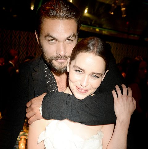Game of Thrones Jason Momoa and Emilia Clarke reunion
