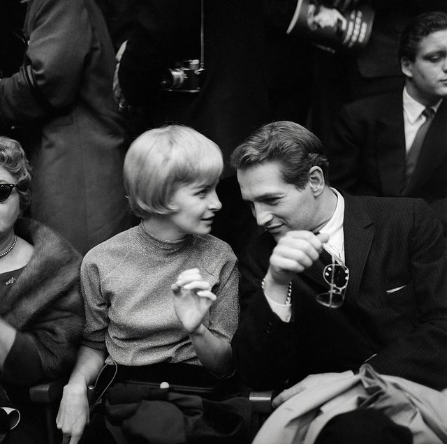 joanne woodward and paul newman in crowd
