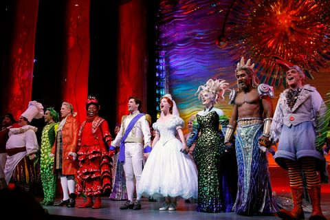 """The Little Mermaid"" Broadway Opening Night - Curtain Call"
