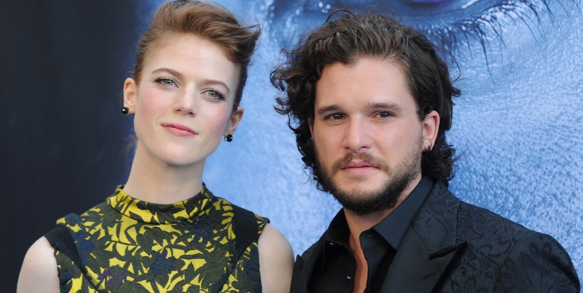 Kit Harington Denies Rumors That Hes Cheating On Rose Leslie With A