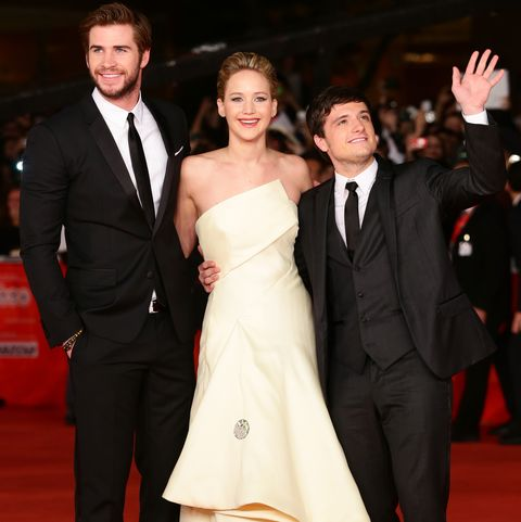 'the hunger games catching fire' premiere    the 8th rome film festival