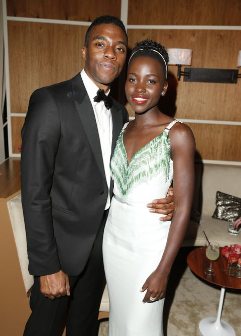 Lupita Nyong'o's Powerful Tribute to Chadwick Boseman Will Encourage You to Live With Purpose