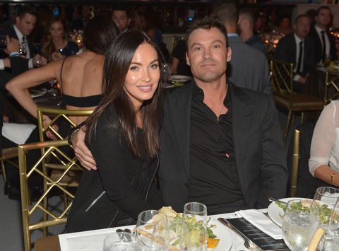 megan fox and her ex husband brian austin green in december 2014, when they were still together