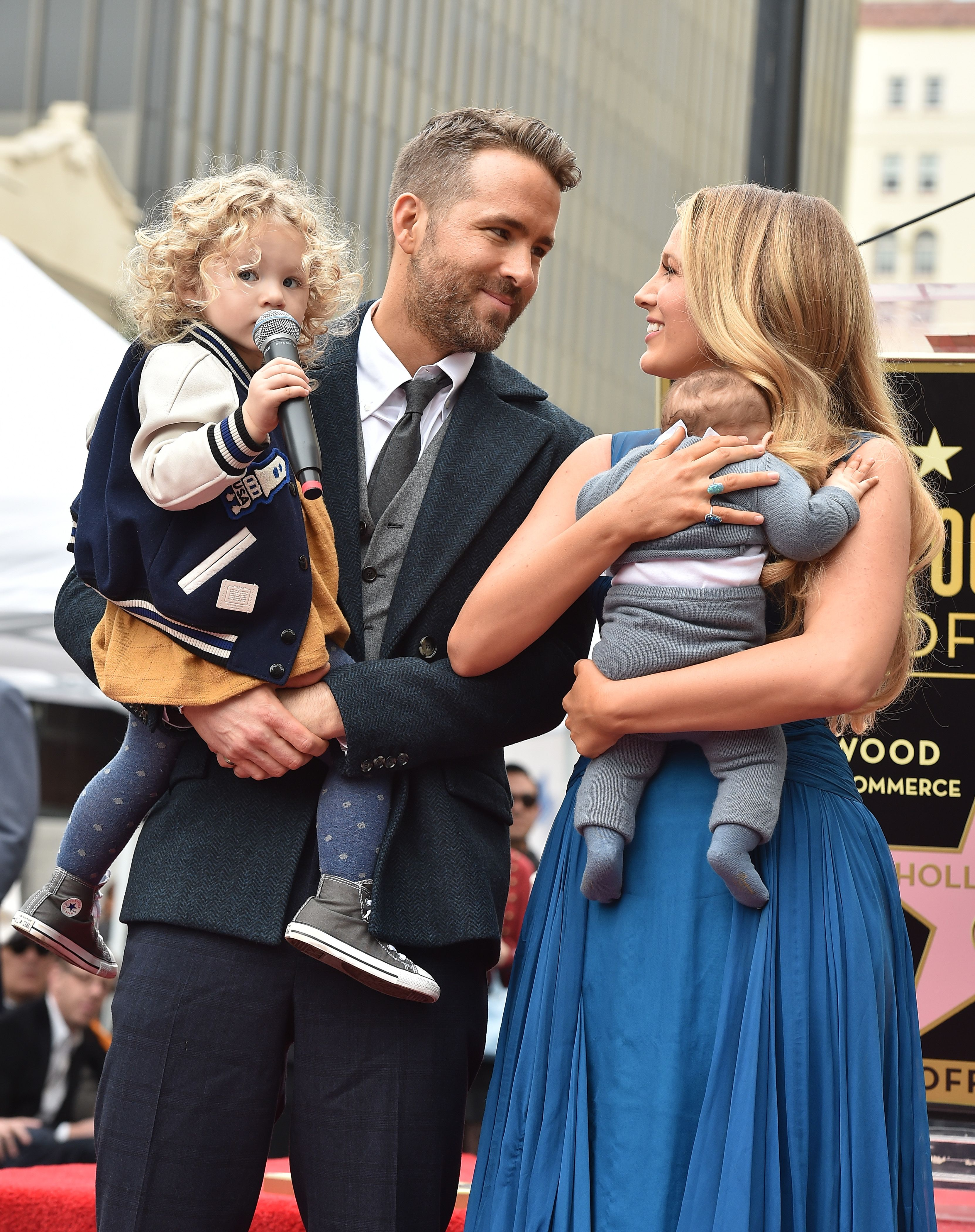 Ryan Reynolds Shared the First Look at His and Blake Lively's Third Baby Girl