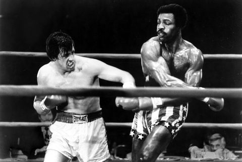 """""""rocky"""" released by chartoff winkler prods united artists  march 17, 1977"""