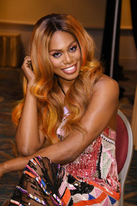 actress, activist and matrix brand ambassador laverne cox joins matrix global business ambassador tabitha coffey at  matrix destination 2020 in orlando   day 1