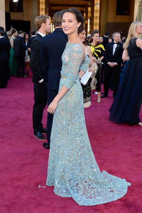 Academy Awards Alicia Vikander