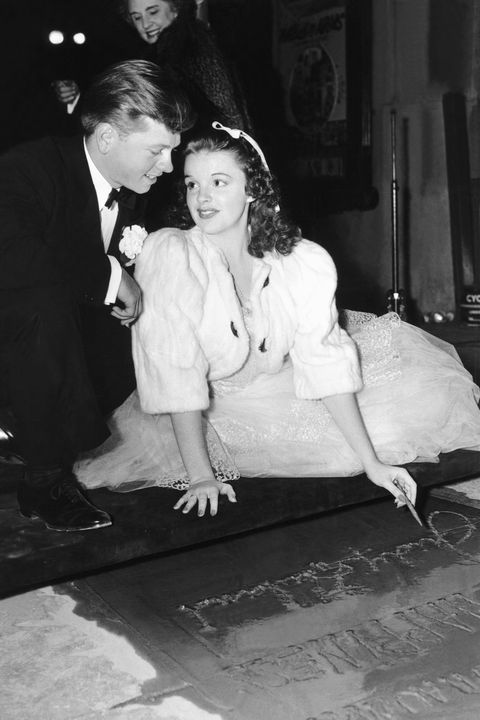 garland judy with mickey rooney