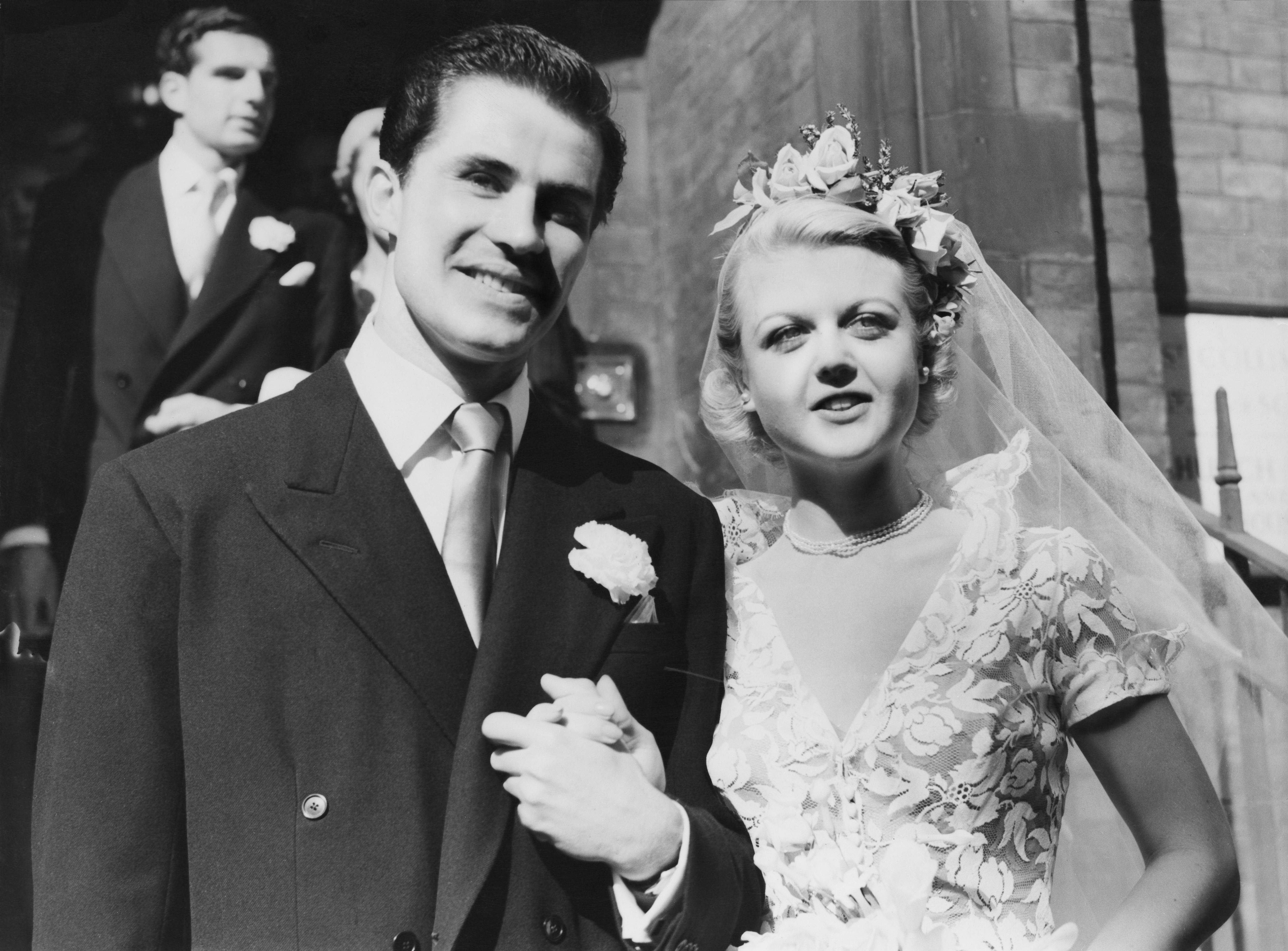 Angela Nicholas Movies 40 rare vintage photos of hollywood legends on their wedding day