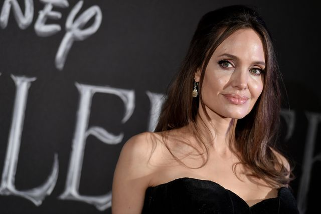 actress angelina jolie attends the european premiere of the