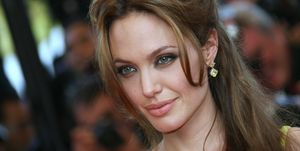 US actress Angelina Jolie poses 24 May 2...